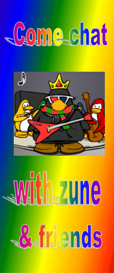 Click Here to chat with zune and friends